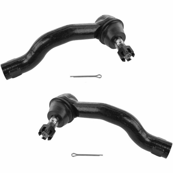 Pair (2) Front Outer Tie Rod Ends - Part # TRK3546-3530