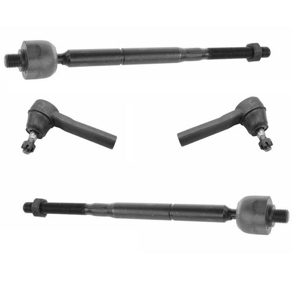 Dodge Dynasty 1990 1993 Front Outer Steering: [Set] 2 Front Inner & 2 Front Outer Tie Rod