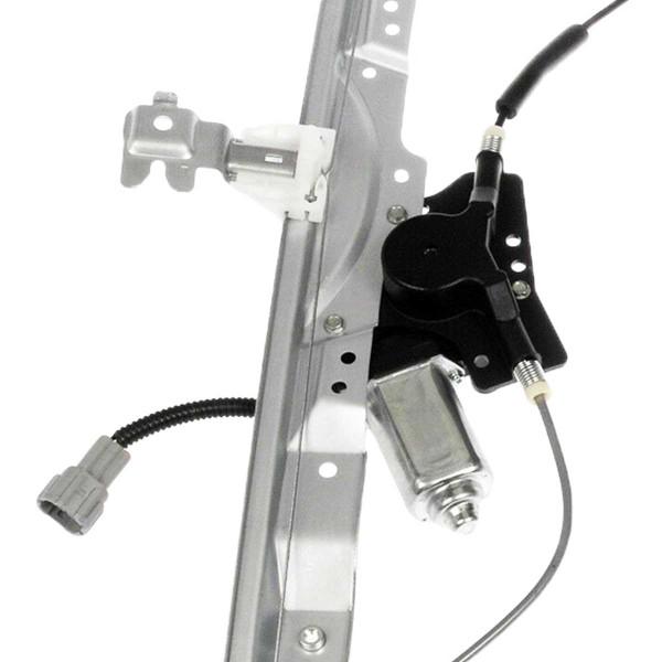 Front Driver Left Power Window Regulator with Motor - Part # WR848526
