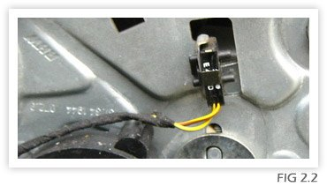 Window Regulator Replacement Fig 2.2