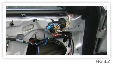 Window Regulator Replacement Fig 3.2